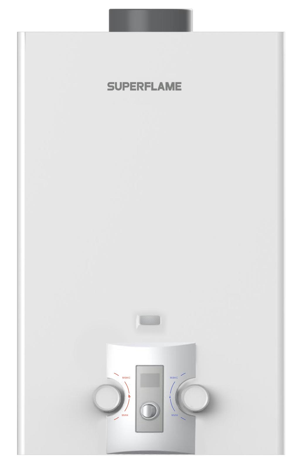 Газовый водонагреватель superflame