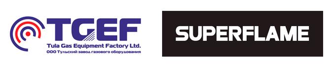 Логотип ТЗГО и SUPERFLAME
